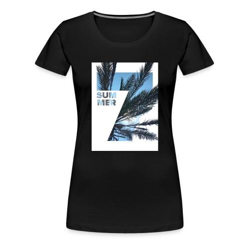 Summertime - Vrouwen Premium T-shirt