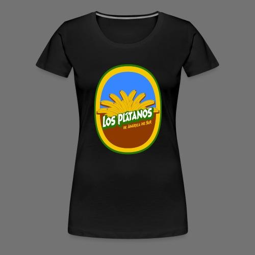Los Platanos - Naisten premium t-paita