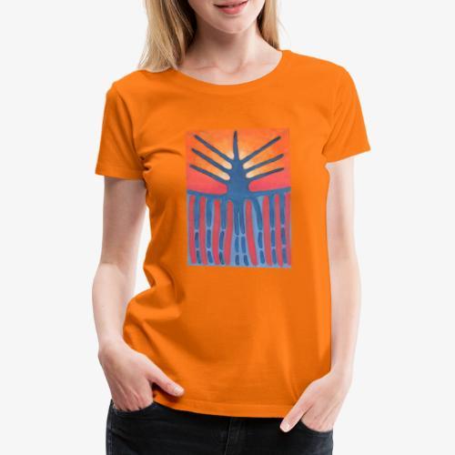 drzewo prehistoryczne 1 - Koszulka damska Premium