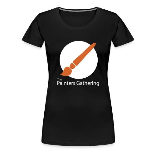 The Painters Gathering - Dame premium T-shirt