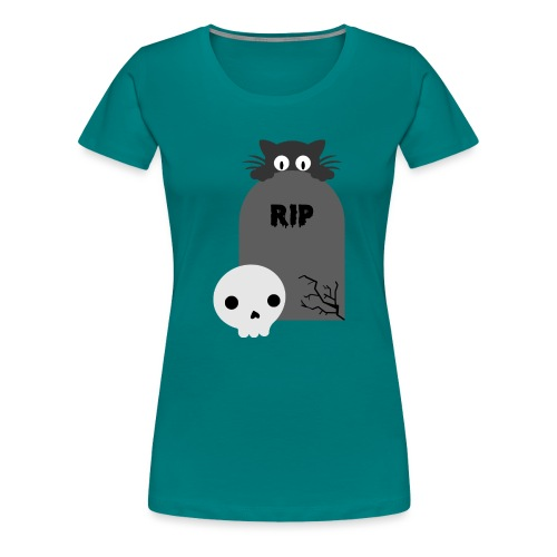 Dark But Cute - Women's Premium T-Shirt