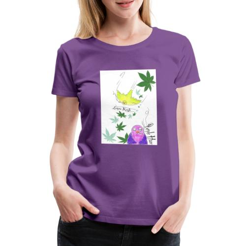 k u s h - Frauen Premium T-Shirt