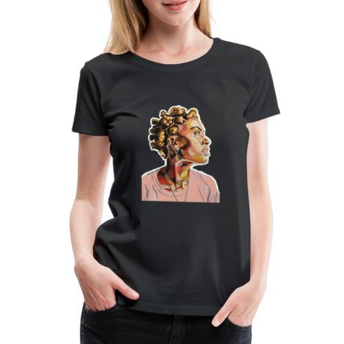 She Just Glows - Women's Premium T-Shirt