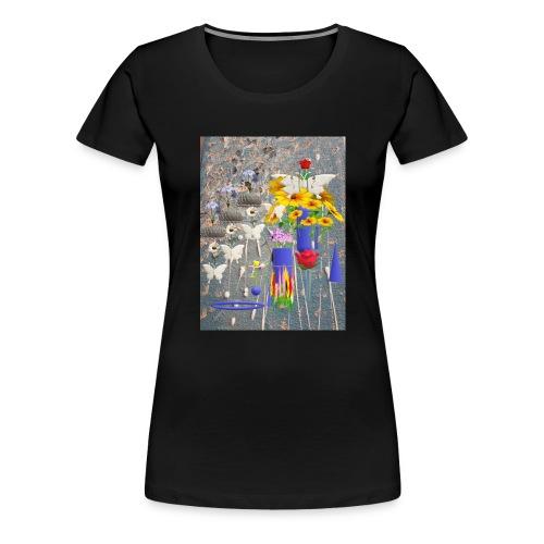 Blaues Traumland - Frauen Premium T-Shirt