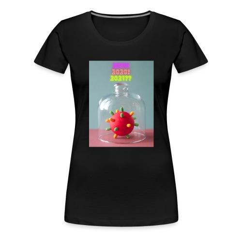 corona style hope mystery - Vrouwen Premium T-shirt