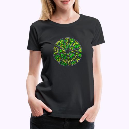 Disco Genetico - Camiseta premium mujer