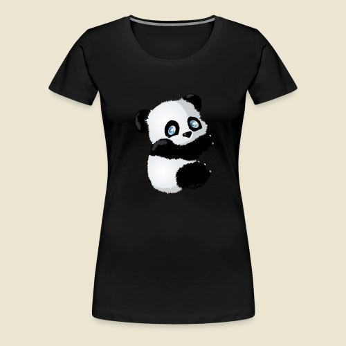 Bébé Panda - T-shirt Premium Femme