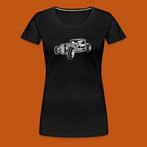Hot Rod / Rad Rod 06_weiß - Frauen Premium T-Shirt