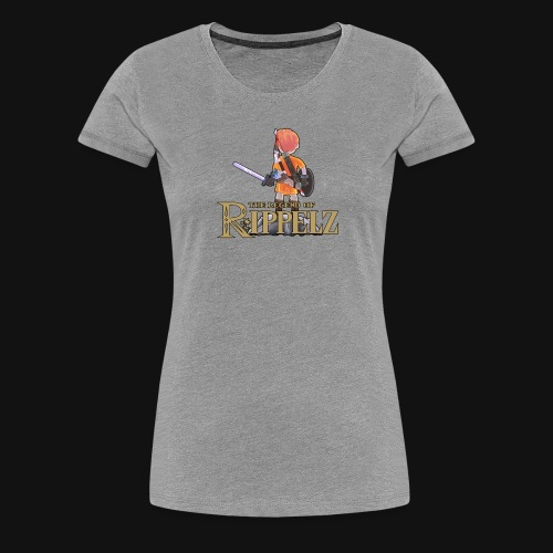Rippelz - The Legend of Rippelz - Frauen Premium T-Shirt