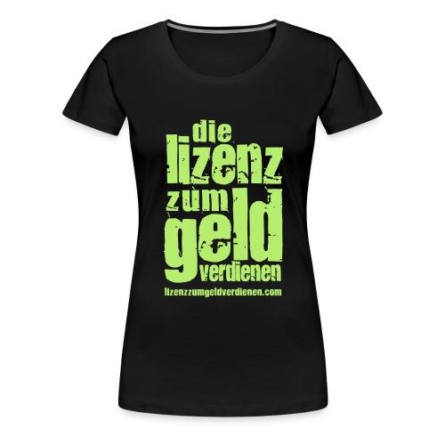 dlzgv_1 - Frauen Premium T-Shirt