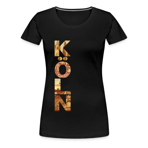Koeln Vertikal - Frauen Premium T-Shirt