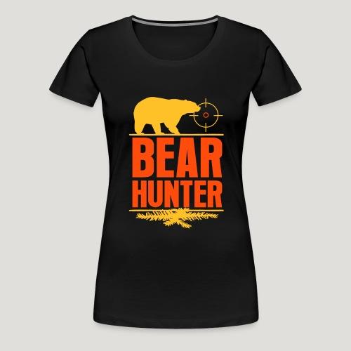 Jäger Shirt Bären Jäger - Bear Hunter Jagd Wild - Frauen Premium T-Shirt