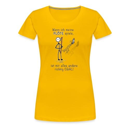 Recorder Love f. bright colours - Women's Premium T-Shirt