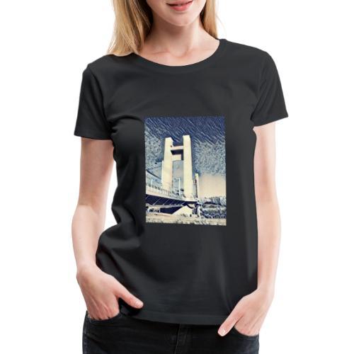 Le pont de Recouvrance - T-shirt Premium Femme