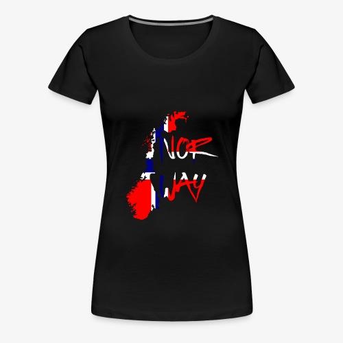 Norway Norwegen - Frauen Premium T-Shirt