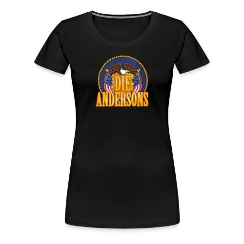 Die Andersons - Merchandise - Frauen Premium T-Shirt