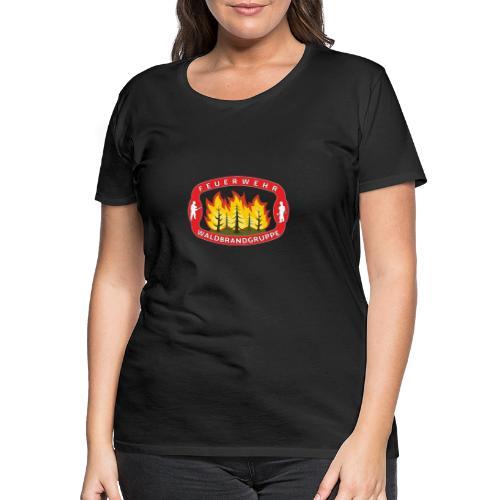 Waldbrandgruppe Feuewehr - Frauen Premium T-Shirt