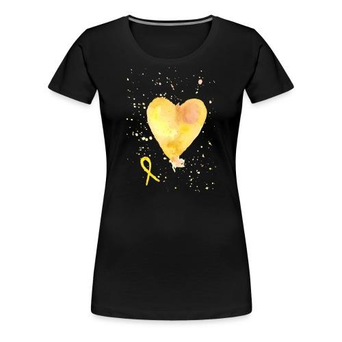 Endosydän - Naisten premium t-paita