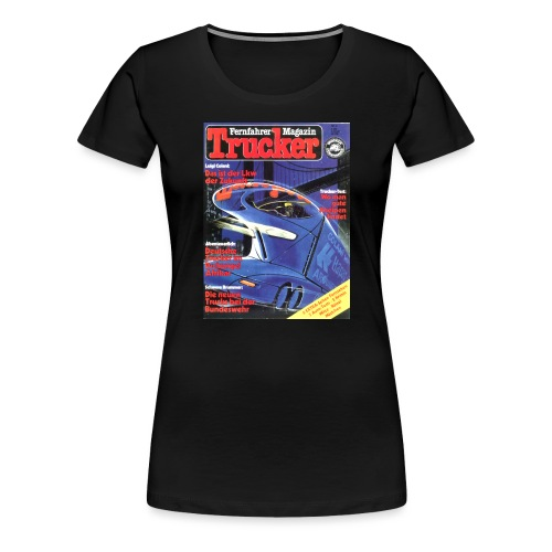 Trucker Cover Nr. 4 - Frauen Premium T-Shirt
