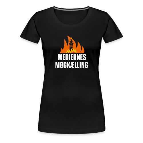 mediernes møgkælling - Dame premium T-shirt