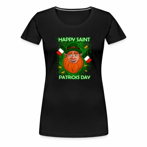 Happy St. Patricks Day - Frauen Premium T-Shirt