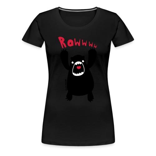 rawww - Frauen Premium T-Shirt