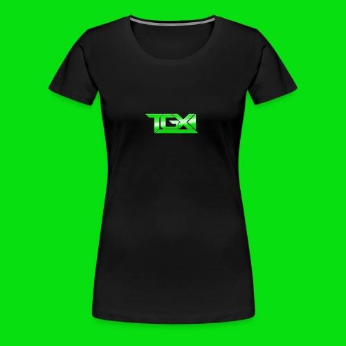 TGX Logo - Women's Premium T-Shirt