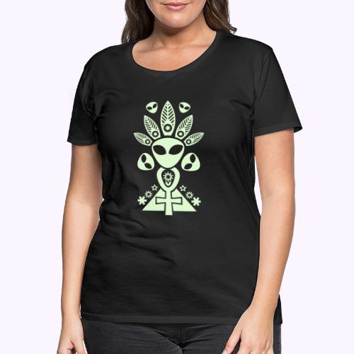 Ankhmania Glow - Naisten premium t-paita