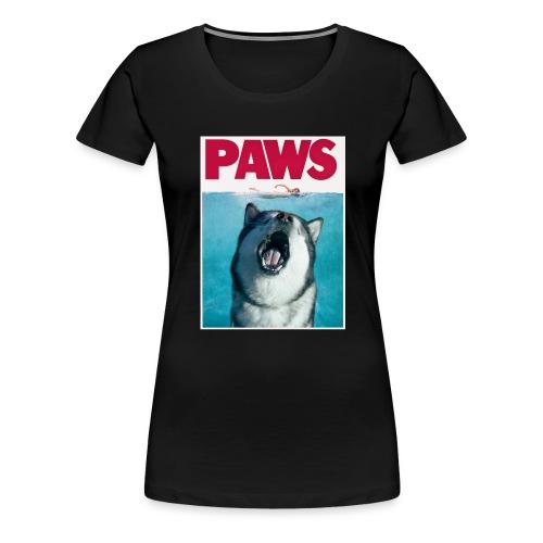 paws Alaskan Malamute - Women's Premium T-Shirt