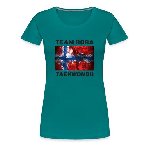 TEAM02 png - Premium T-skjorte for kvinner