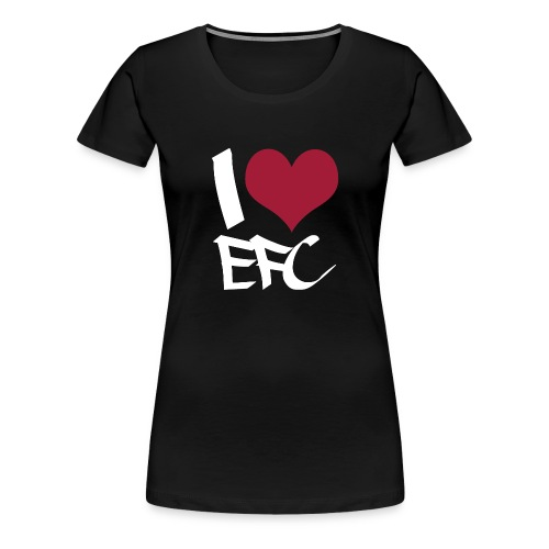 iloveefc white - Frauen Premium T-Shirt