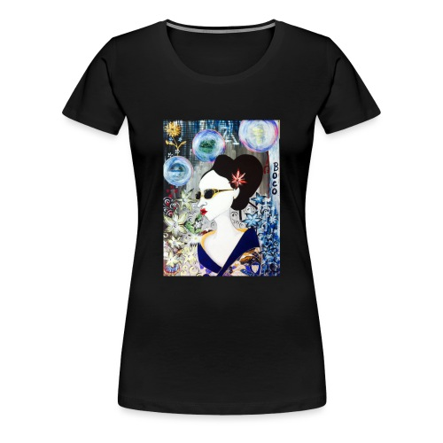 Geisha's Night Off - Women's Premium T-Shirt