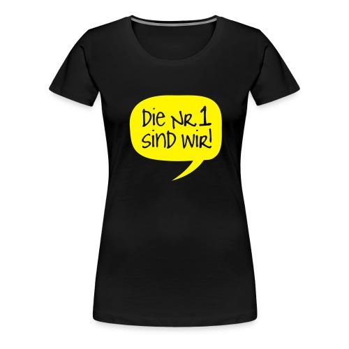 nr1 - Frauen Premium T-Shirt