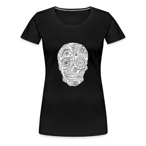 Sugar Skull - T-shirt Premium Femme
