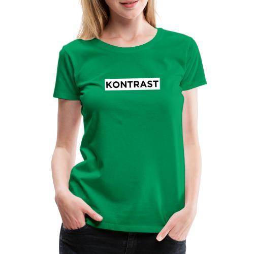 KONTRAST - Premium-T-shirt dam