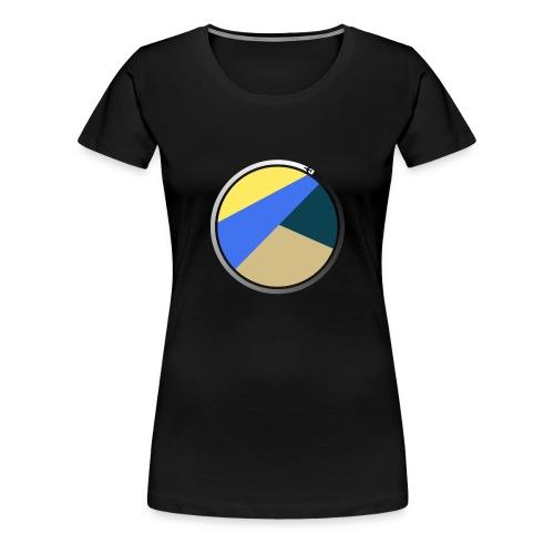 Travel Life 5.png - Premium T-skjorte for kvinner