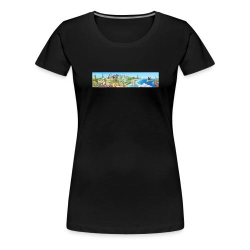 turista completo - Maglietta Premium da donna