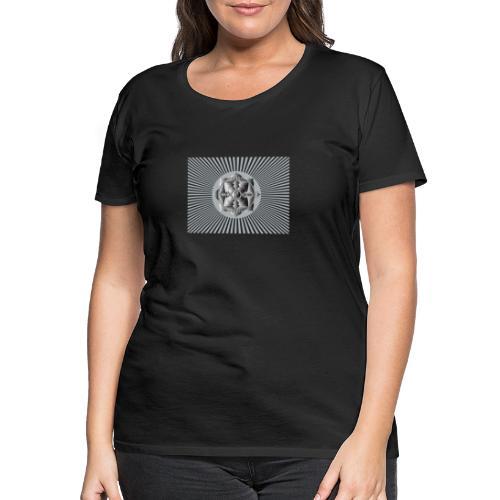 Lotus Glück Buddha - Frauen Premium T-Shirt