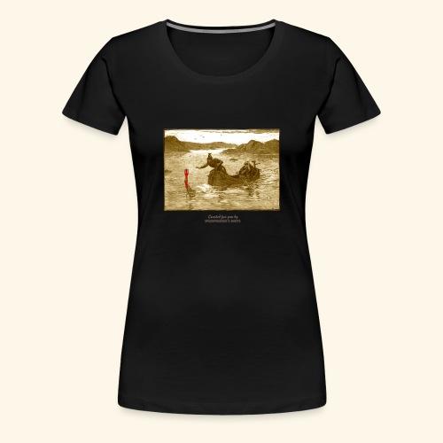 Geek T Shirt Excalibur 2.0 - Frauen Premium T-Shirt