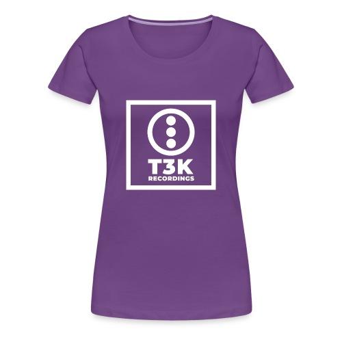 T3K-Recordings-Square-Can - Women's Premium T-Shirt