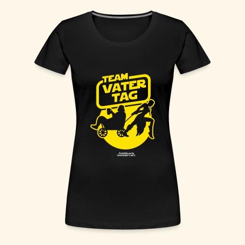 Vatertags T Shirt Team Vatertag - Frauen Premium T-Shirt