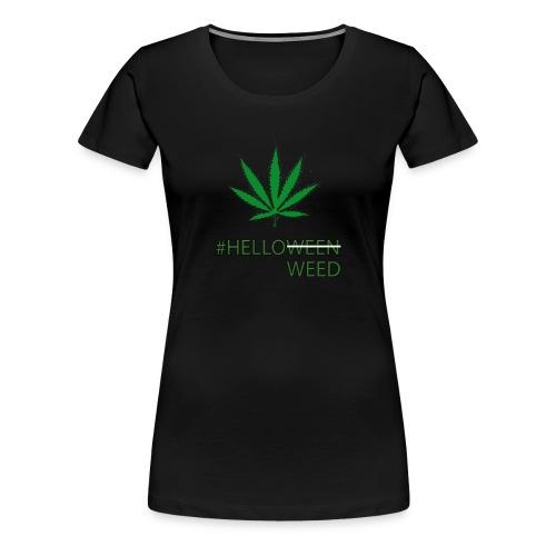 Helloween/weed Fun T-Shirt - Frauen Premium T-Shirt
