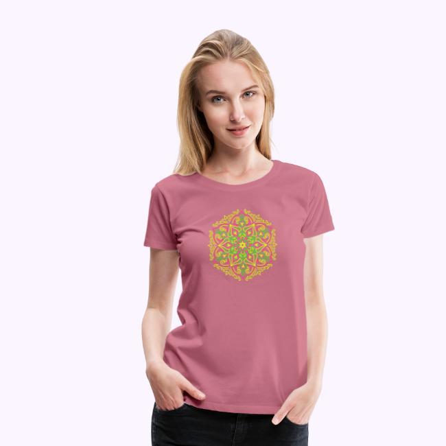 Mandala de loto de fuego