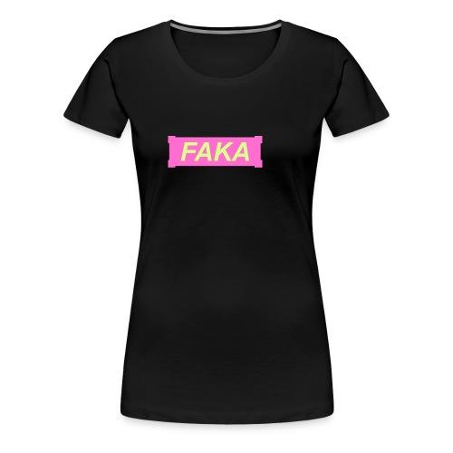 roos - geel - Vrouwen Premium T-shirt