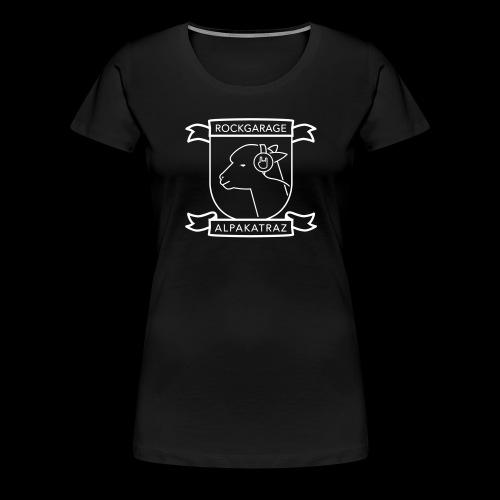 Rockgarage Alpakatraz - Frauen Premium T-Shirt