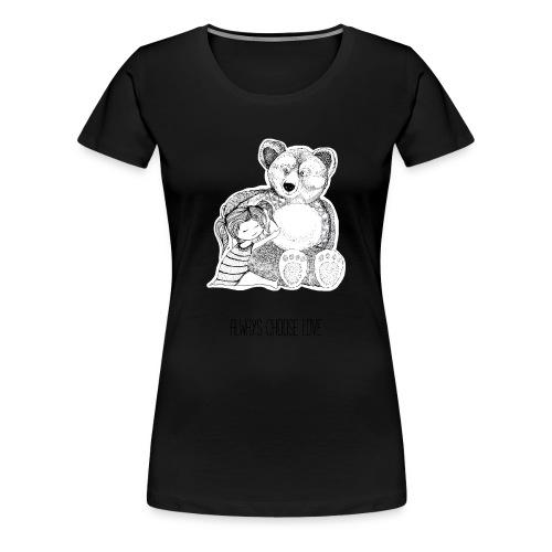 bärenliebe - Frauen Premium T-Shirt