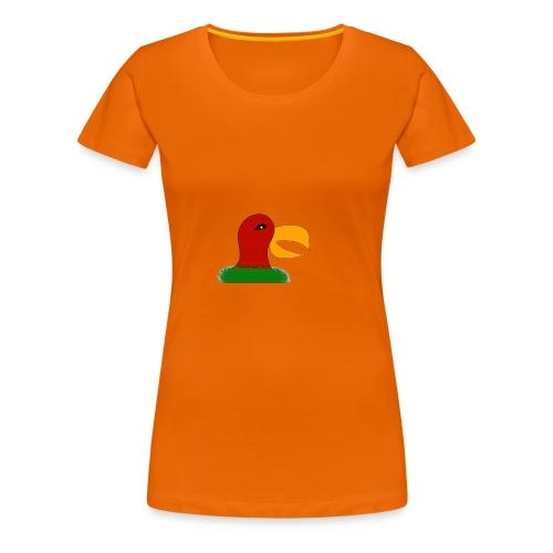 Parrots head - Women's Premium T-Shirt