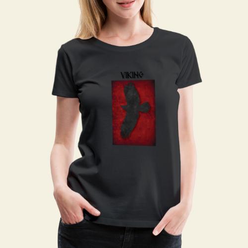 ravneflaget viking - Dame premium T-shirt