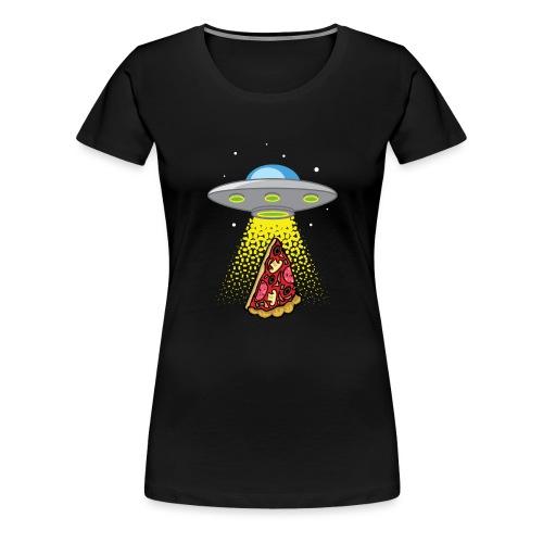 UFO Pizza Abduction - T-shirt Premium Femme