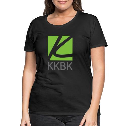 KKBK Logo - Frauen Premium T-Shirt
